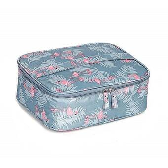 Rebrilliant Stever Travel Bathroom 2 Piece Cosmetic Bag Organizer Set Wayfair