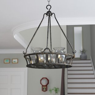 Darby Home Co Eliza 6-Light Shaded Chandelier
