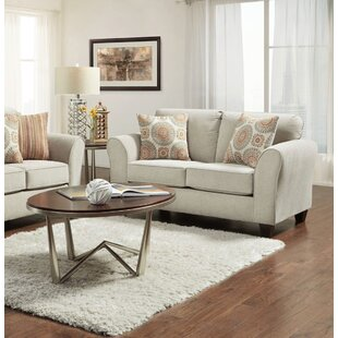 Andreasen Taupe Loveseat