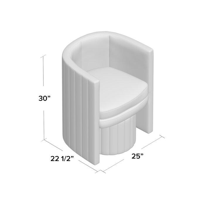 Peachy Malek Barrel Chair And Ottoman Dailytribune Chair Design For Home Dailytribuneorg