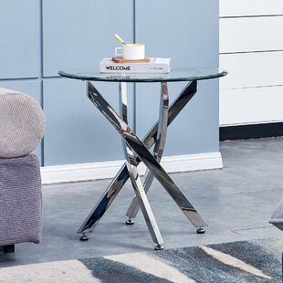 Landgraf End Table by Ebern Designs Today Only Sale