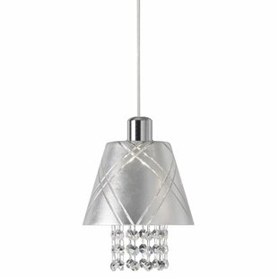 Jesusa 1-Light Cone Pendant by Everly Quinn