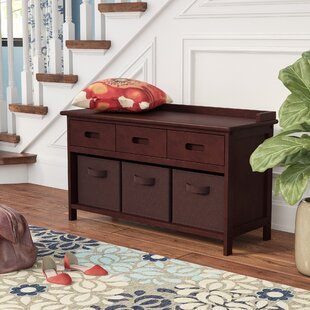 Best Price Goudeau 4 Piece Storage Bench By Three Posts