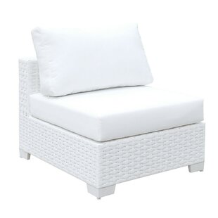 Laurene Wicker Slipper Chair by Highland Dunes Great Reviews