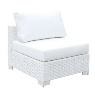 Laurene Wicker Slipper Chair by Highland Dunes Fresh