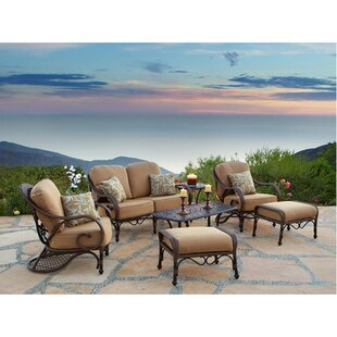 Jared 7 Piece Deep Seating Group With Cushions by World Menagerie Sale