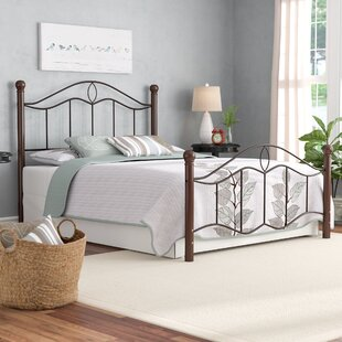 August Grove Gaspard Panel Bed