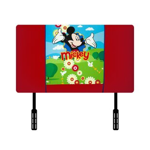 Price comparison Disney Mickey Mouse Clubhouse Twin Upholstered Headboard by Kidz World Reviews (2019) & Buyer's Guide