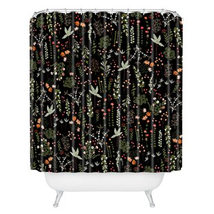 Iveta Abolina Floral Goodness II Single Shower Curtain