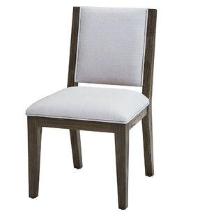 Demetris Upholstered Dining Chair (Set of 2)