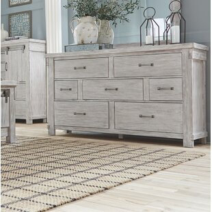 Gracie Oaks Rovner 7 Drawer Dresser