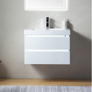 Valera LED 30 Wall-Mounted Single Bathroom Vanity Set By Orren Ellis