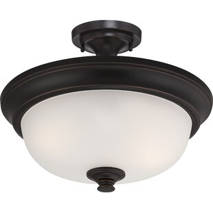 Hardin 2-Light Semi Flush Moun..