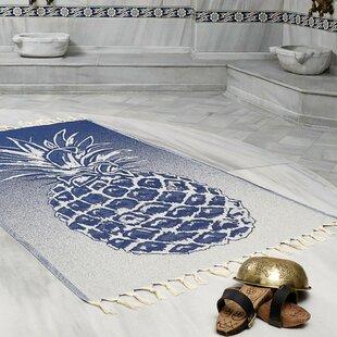 Selborne Pineapple Peshtemal Fouta Turkish Cotton Beach Towel