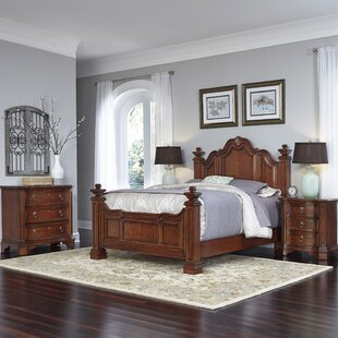 Astoria Grand Plains Platform 4 Piece Bedroom Set