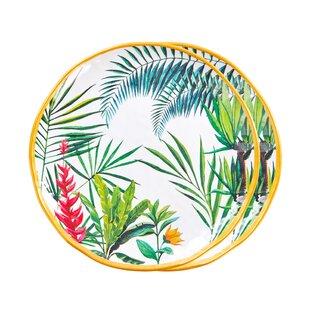 Fairway 2 Piece Melamine Dessert Plate Set By Bay Isle Home