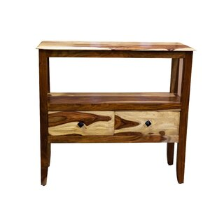"Hendon 32"" Solid Wood Console Table by Loon Peak SKU:BC552691 Buy"