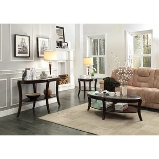 Bettrys 3 Piece Coffee Table Set Red Barrel Studio
