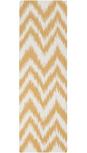 Buying Marion Golden Raisin & Ivory Zig Zag Area Rug By Zipcode Design