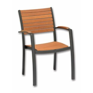 Strafford Stackable Garden Chair By Brambly Cottage