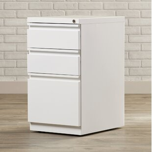 Brayden Studio Mckamey 3 Drawer Mobile Pe..