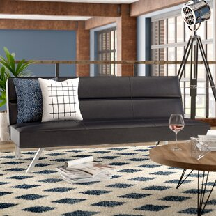 Brungardt Futon with Memory Foam by Ebern Designs