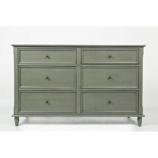 Waymon 6 Drawer Double Dresser by Canora Grey