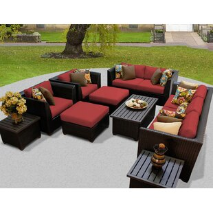 Medley 12 Piece Sofa Seating Group with Cushions