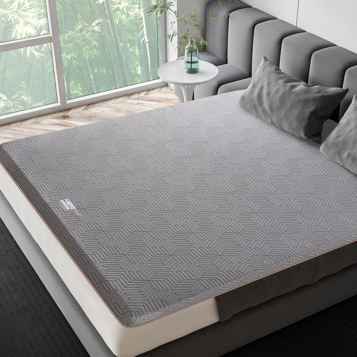 with Removable Cover Ventilated Design Foam Mattress Pad with CertiPUR-US BedStory 3 inch Gel Mattress Topper CK Gel Infused Memory Foam Mattress Topper