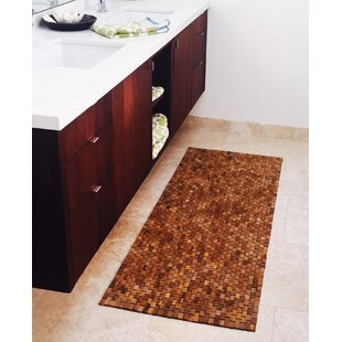 Egidio Teak Floor Bath Runner