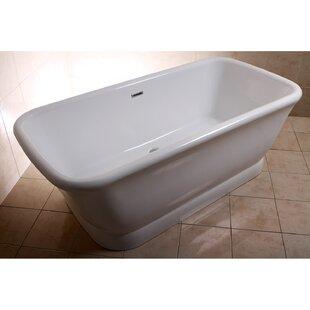 Aqua Eden 70 x 34  Freestanding Soaking Bathtub ByKingston Brass