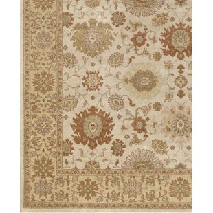 Searching for Zambrano Hand-Knotted Wool White Area Rug By Astoria Grand