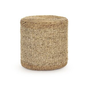 Ahlers Woven Cylinder Accent Stool