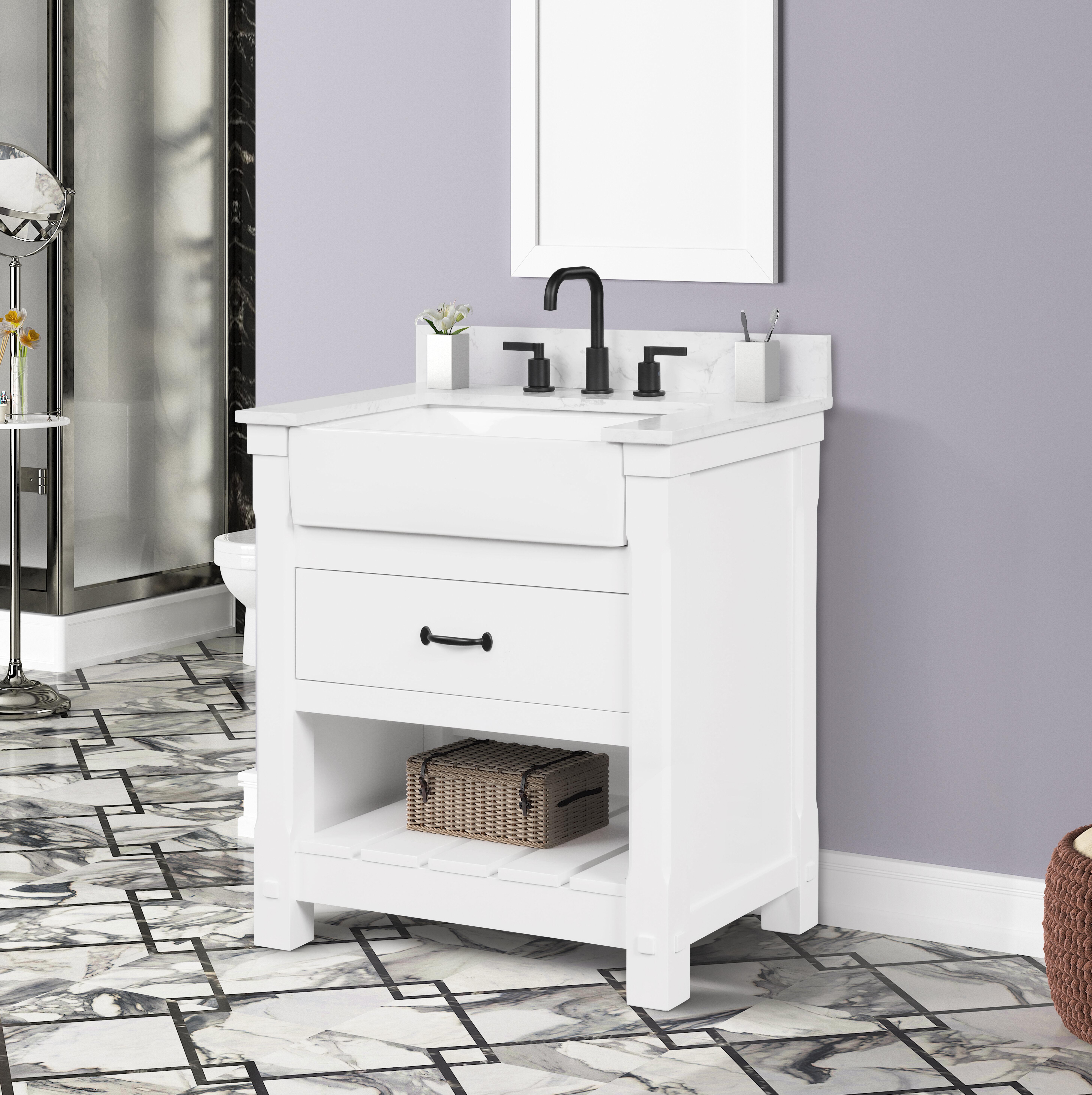 Red Barrel Studio Dilkhush 31 Single Bathroom Vanity Set Wayfair
