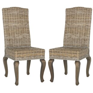 One Allium Way Alsace Upholstered Dining Chair (Set of 2)