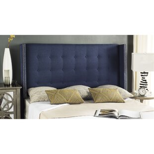 Burch Twin Upholstered Wingback Headboard