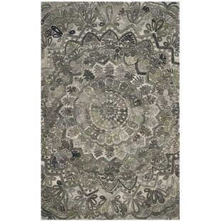 Brantley Hand-Tufted Gray Area Rug by Bungalow Rose
