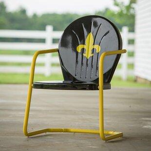 Leigh Country Fleur De Lis Retro Chair