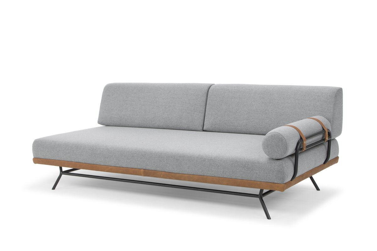 Union Rustic Simonne Modern Daybed With Mattress Amp Reviews