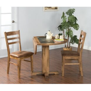 Fresno 3 Piece Dining Set Loon Peak