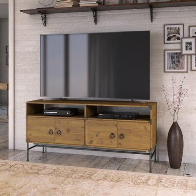 Ironworks TV Stand for TVs up to 65 Kathy Ireland Office by Bush