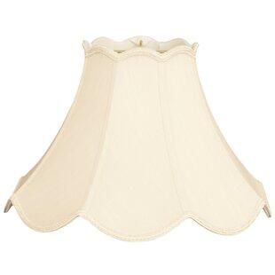 Top Brands of 14 Silk/Shantung Bell Lamp Shade By Alcott Hill