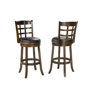 Compare Hilal 29 Swivel Bar Stool (Set of 2) by Red Barrel Studio Reviews (2019) & Buyer's Guide