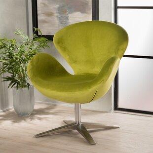 Ospina Swivel Armchair by Brayden Studio