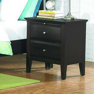Gliese 2 Drawer Nightstand by Latitude Run