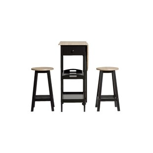 Lamine Dining Set 2 Chairs By August Grove