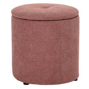 Cockerham Upholstered Storage Ottoman by Mercer41