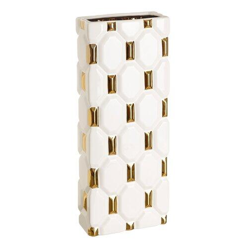 Vase Dingess Bloomsbury Market Größe: 50|5 cm H x 20|5 cm B x 10|5 cm B | Dekoration > Vasen > Tischvasen | Bloomsbury Market