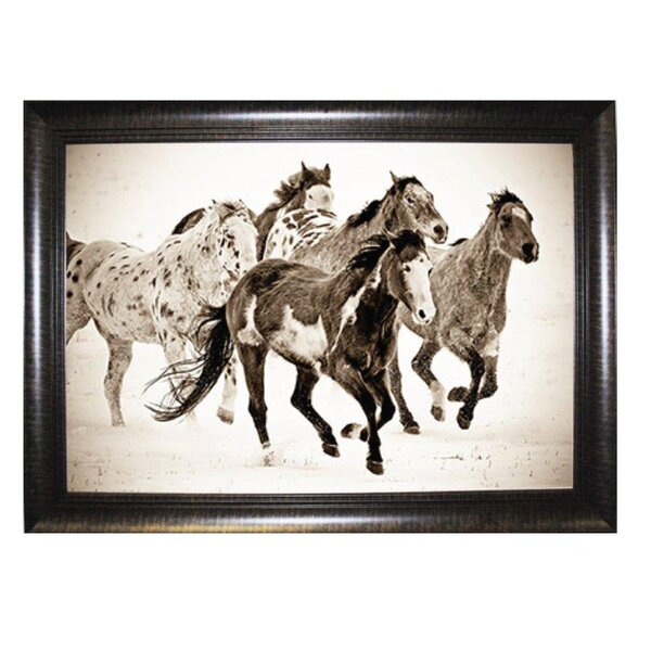 Western Horse Wall Art | Wayfair