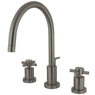 Elements of Design South Beach Double Cross Handle Mini-Widespread Bathroom Faucet